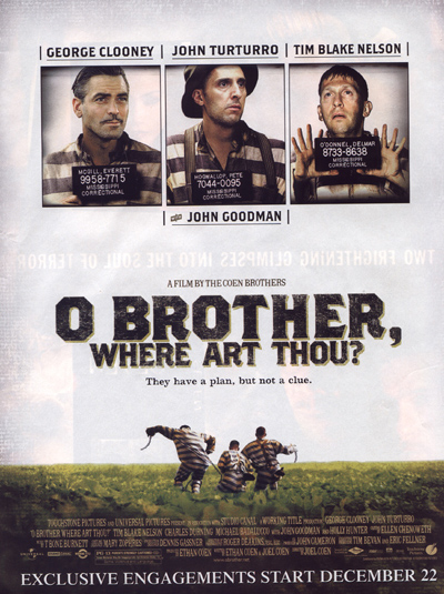 O Brother Where Art Thou Poster Oh Brother, Where art ...